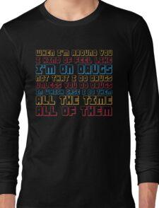 Scott Pilgrim is On Drugs Long Sleeve T-Shirt
