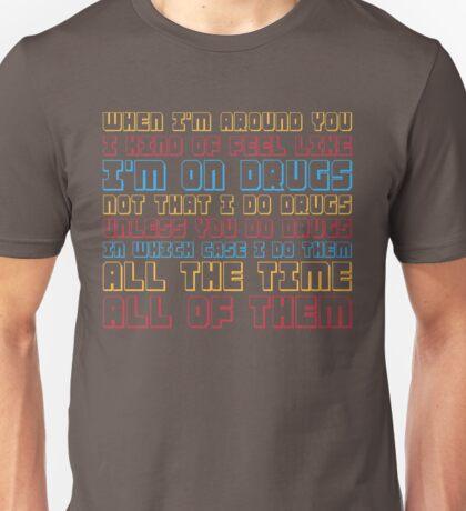 Scott Pilgrim is On Drugs Unisex T-Shirt
