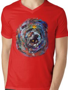 Psychedelic Space  Mens V-Neck T-Shirt