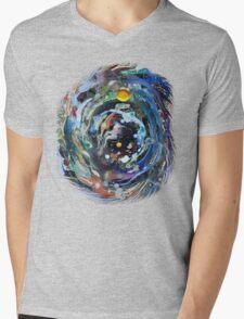 Psychedelic Space  Mens V-Neck T-Shirt