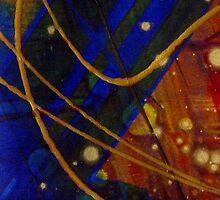 Mickey's Triptych - Cosmos I by © Angela L Walker