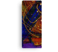 Mickey's Triptych - Cosmos I Canvas Print