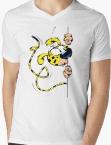 marsupilami Mens V-Neck T-Shirt