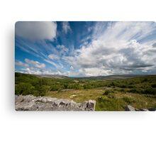 Irish cloudscape  Canvas Print
