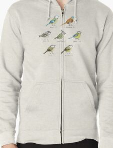 The Tit Family Zipped Hoodie