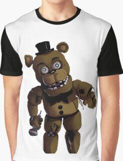 FNAF 2 Withered Freddy Fazbear Graphic T-Shirt