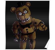 FNAF 2 Withered Freddy Fazbear Poster