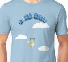 Cutie Parachuting Dog Unisex T-Shirt