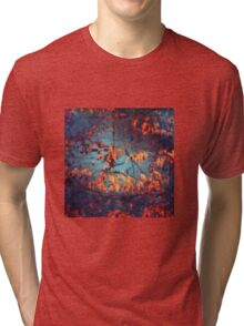 abstract leaves Tri-blend T-Shirt