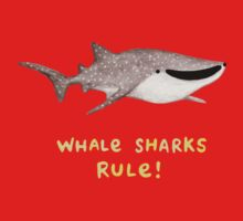 Whale Sharks Rule! One Piece - Short Sleeve