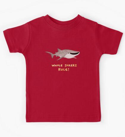 Whale Sharks Rule! Kids Tee