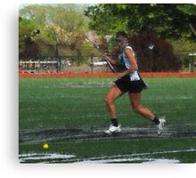 042512 241 1 expressionist girls lacrosse Canvas Print
