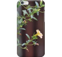 Yellow Vine Flowers iPhone Case/Skin