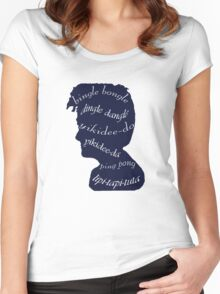 Bingle bongle dingle dangle Women's Fitted Scoop T-Shirt