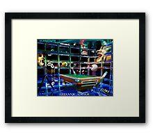 Titanic Anger Framed Print