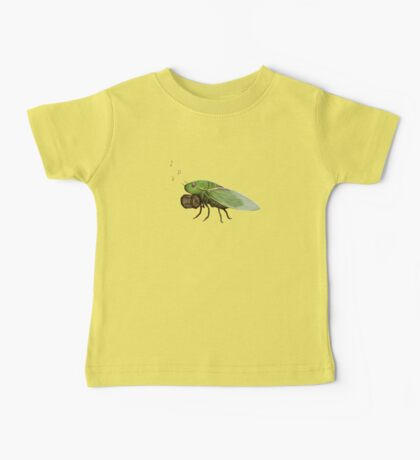 Cicada Playing a Squeezebox Baby Tee