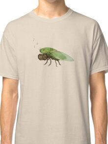 Cicada Playing a Squeezebox Classic T-Shirt