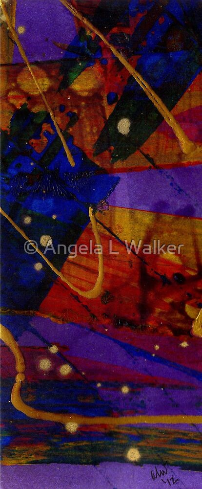 Mickey's Triptych - Cosmos III by © Angela L Walker