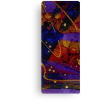 Mickey's Triptych - Cosmos III Canvas Print