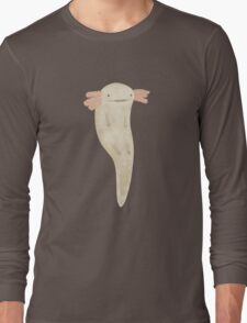 Floating Axolotl Long Sleeve T-Shirt