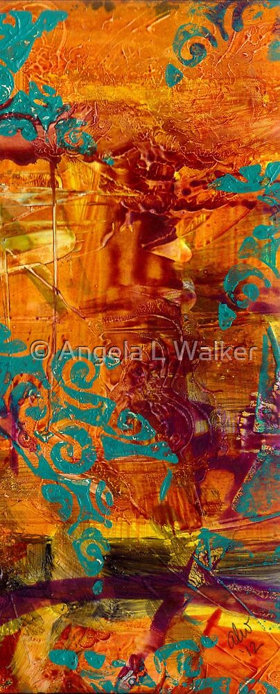 Courageous Journey I by © Angela L Walker