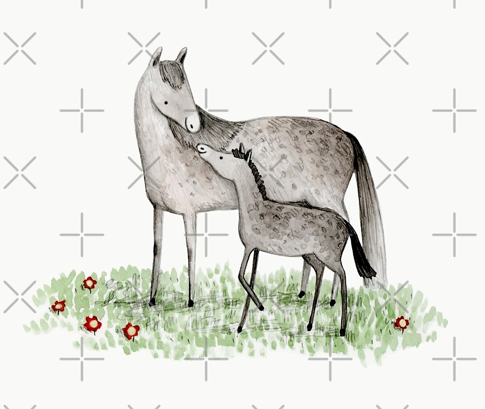 Mare & Foal by Sophie Corrigan