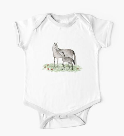 Mare & Foal One Piece - Short Sleeve