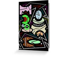 abstract urban 11 Greeting Card