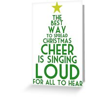 Spread Christmas Cheer Greeting Card