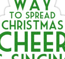 Spread Christmas Cheer Sticker