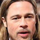 Brad Pitt (Portrait) by Paul Bird