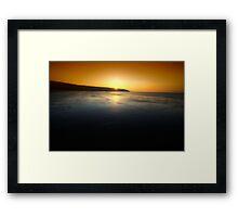 First Blush Framed Print