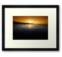First Blush Framed Print