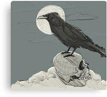 Death waits Canvas Print