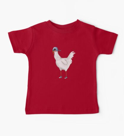 Spring Chicken Baby Tee