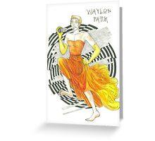 Run, Waylon, Run Greeting Card