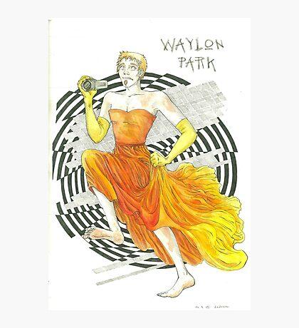 Run, Waylon, Run Photographic Print