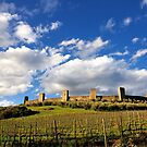 The Castle of Monteriggioni (Tuscany) by maumar70