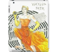 Run, Waylon, Run iPad Case/Skin
