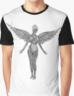 Nirvana Angel Graphic T-Shirt
