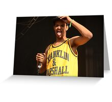 Rizzle kicks Greeting Card