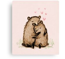 Bearlentines Canvas Print