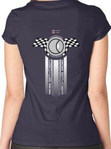 Steve McQueen 12 Hours of Sebring 1970 Team Tribute Women's Fitted Scoop T-Shirt