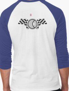 Steve McQueen 12 Hours of Sebring 1970 Team Tribute Men's Baseball ¾ T-Shirt