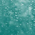 Abstract raindrops by redown