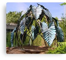 Botanic Sculpture Canvas Print