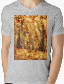 Autumn Dream Mens V-Neck T-Shirt