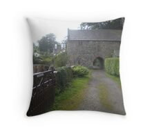 COUNTRY ROAD TO ANTIQUITY Throw Pillow