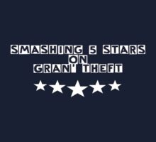 Smashing 5 Stars on GTA by GrandClothing