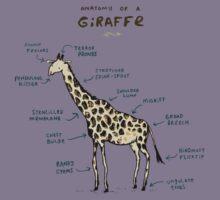 Anatomy of a Giraffe Kids Clothes